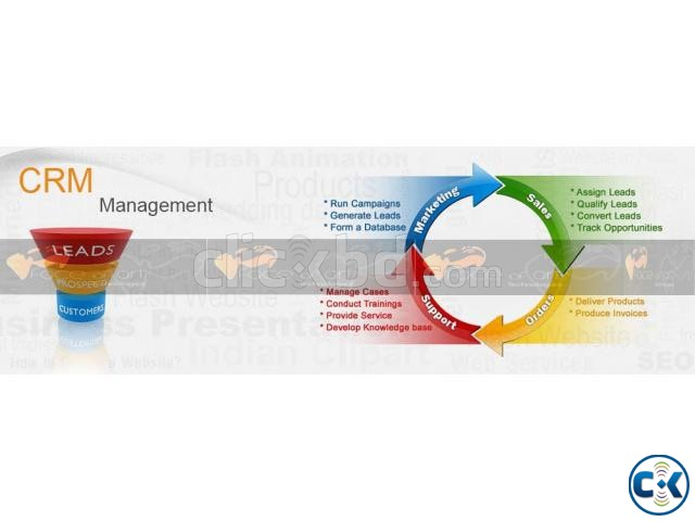 Face CRM Customer Relationship Management  | ClickBD large image 2