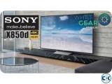 Sony Bravia X8500D 4K Ultra HD 55 Inch Smart Television