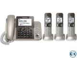 TNT Corded Cordless Phone 3 Handsets