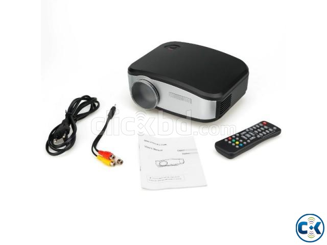 LED Multimedia Projector C6 with tv port | ClickBD large image 3