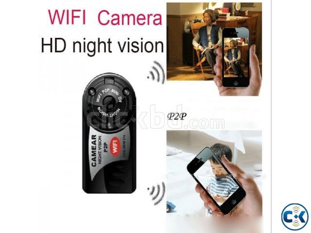 Mini HD Wifi IP Camera Q7 | ClickBD large image 4