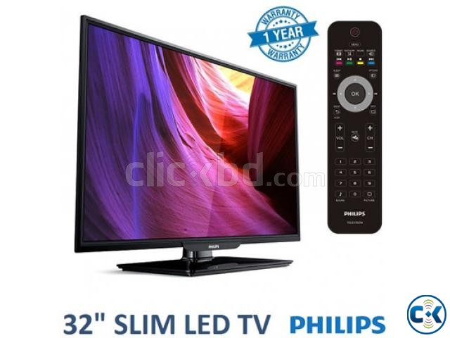 Philps 32 pha4100 HD led tv with 1 year parts warranty | ClickBD large image 0