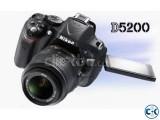 Nikon D5200 Digital SLR Camera Price Bangladesh
