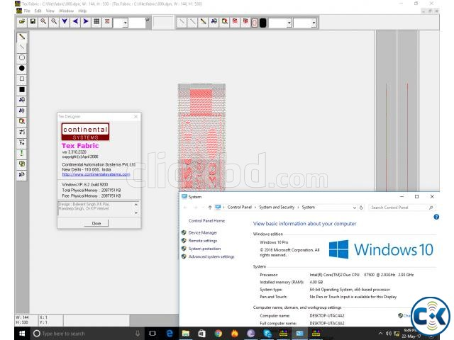 Continental Tex Designer 3.3 Work Windows 10-8-7 New | ClickBD large image 0