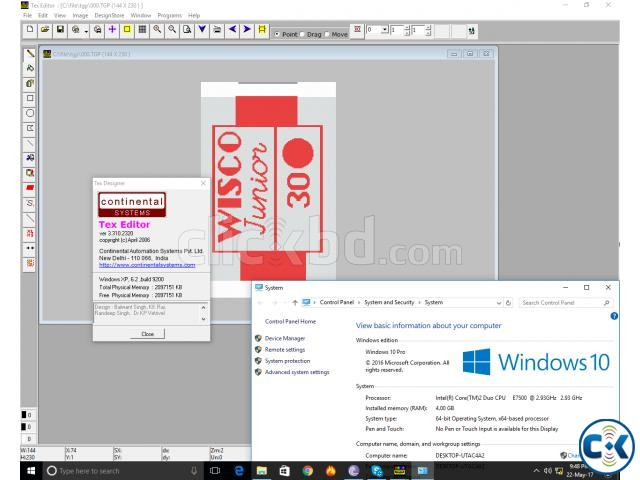 Continental Tex Designer 3.3 Work Windows 10-8-7 New | ClickBD large image 3