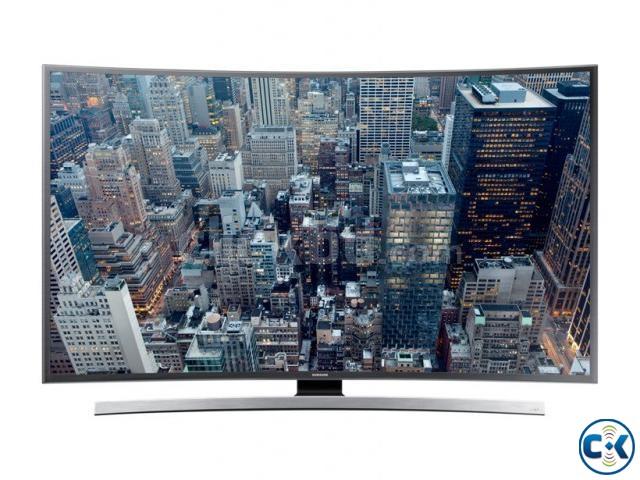 Samsung JU6600 65 UHD Smart Curved TV HyperReal Engine | ClickBD large image 0