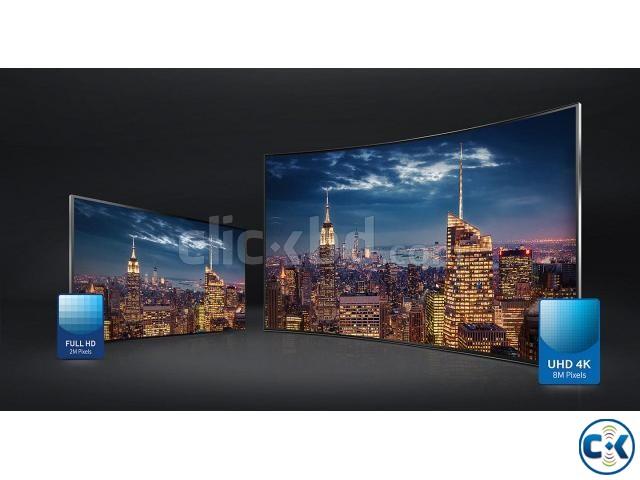 Samsung JU6600 65 UHD Smart Curved TV HyperReal Engine | ClickBD large image 1