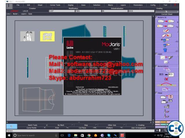 Lectra Modaris V8r1 Sp3 Expert Diamino V6r2 Sp10 Expert | ClickBD large image 0