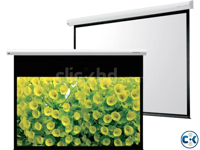 Manual Wall Projector Screen 70 X 70  | ClickBD large image 1
