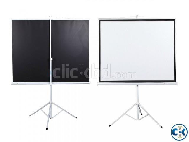 70 x 70 Tripod Screen for LCD Projector | ClickBD large image 1
