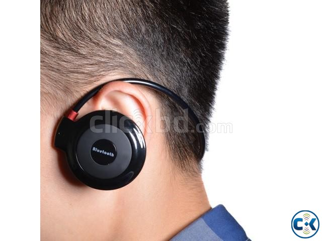 Mini-503 Wireless Bluetooth Sports Stereo Headset | ClickBD large image 1