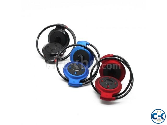 Mini-503 Wireless Bluetooth Sports Stereo Headset | ClickBD large image 2