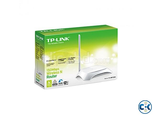 TP-Link TL WR720N 150MBPS Wireless N Router | ClickBD large image 2