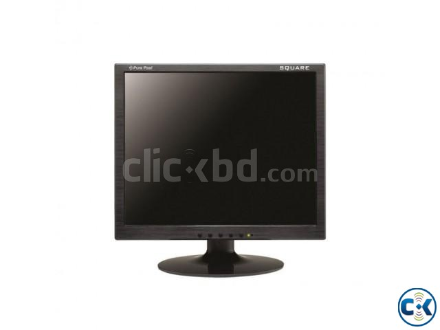 17 inch Square LED Monitor | ClickBD large image 0