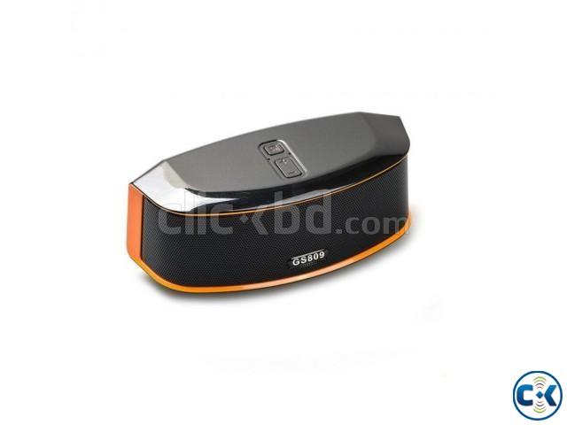 Bass GS809 Wireless Bluetooth Speaker   ClickBD large image 0