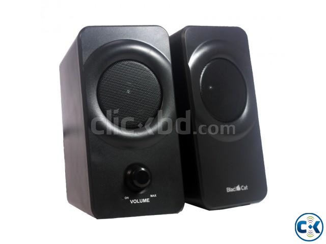 Blackcat BC237 2.0 Channel USB Speaker | ClickBD large image 0
