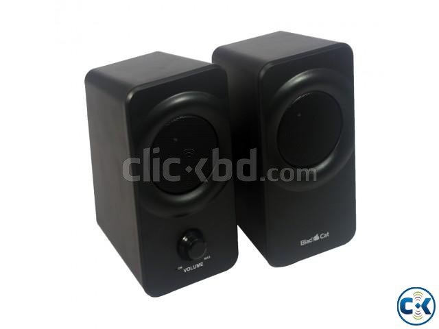 Blackcat BC237 2.0 Channel USB Speaker | ClickBD large image 1