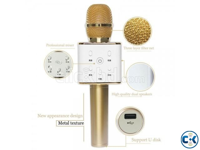 Q7 Bluetooth Microphone | ClickBD large image 0