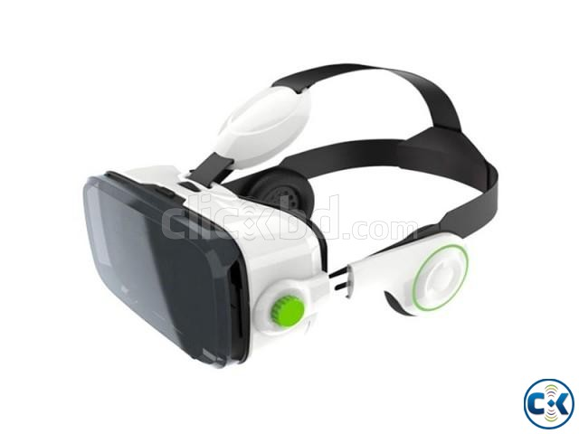 VR Z4 3D Glasses with Headphone | ClickBD large image 2