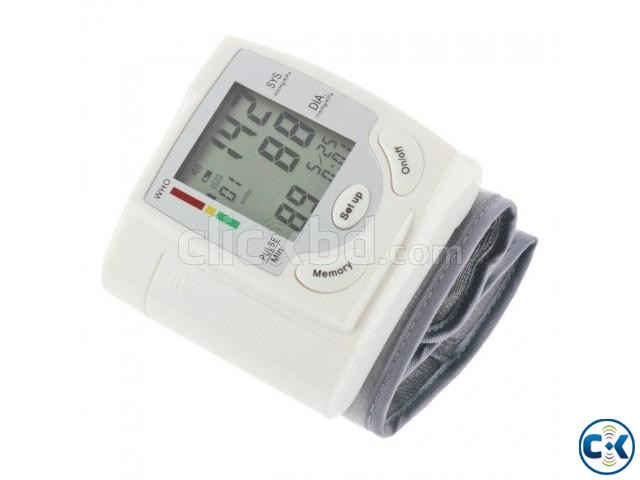 Wrist Blood Pressure Monitor | ClickBD large image 0