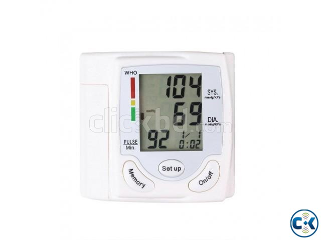 Wrist Blood Pressure Monitor | ClickBD large image 1