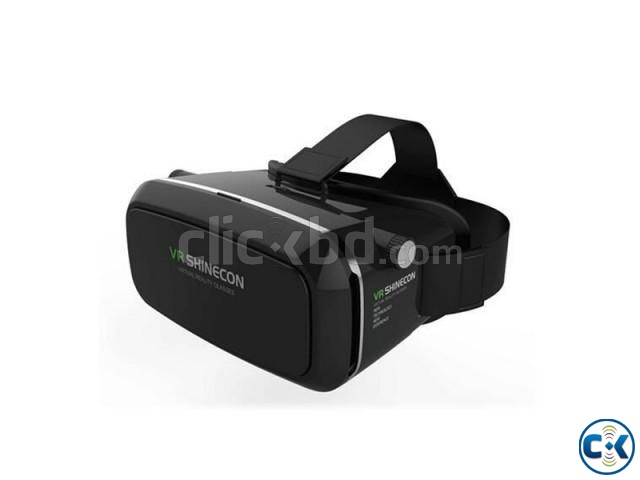 VR SHINECON 3D Virtual Reality Video Glasses - Black | ClickBD large image 0