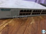micronet 16 port 100 switch