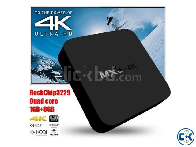 Android Smart TV Box MXQ 4K 2G 8G New Original | ClickBD large image 0