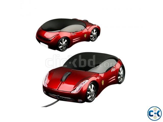 Car Shape USB Mouse | ClickBD large image 1