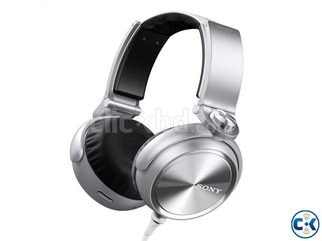 Sony High Definition Extra Bass Headphone White  | ClickBD large image 1