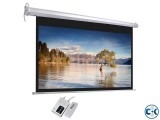 Electric Projection Screen 70 x 70