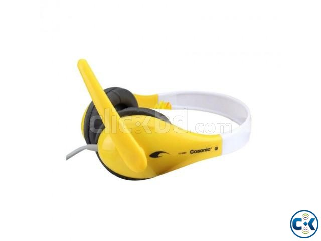 Cosonic CT-650 Stereo Headset | ClickBD large image 1