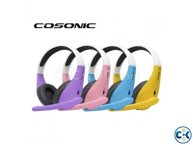 Cosonic CT-650 Stereo Headset | ClickBD large image 2
