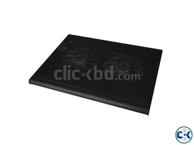 Dual Fan Laptop Cooling Pad | ClickBD large image 0