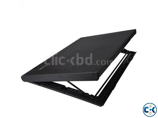 Dual Fan Laptop Cooling Pad | ClickBD large image 1