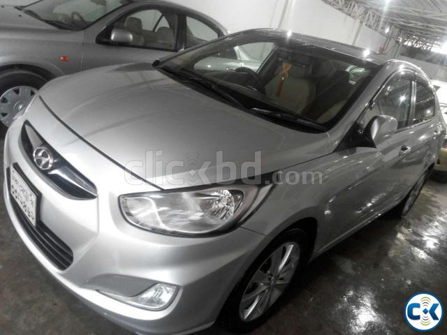 Hyundai Accent Blue | ClickBD large image 0