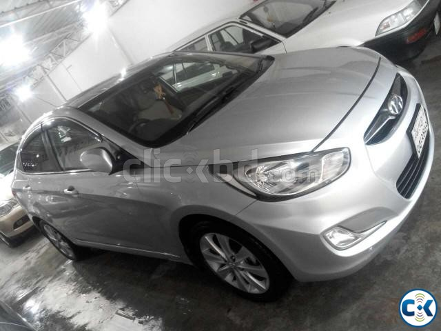 Hyundai Accent Blue | ClickBD large image 1