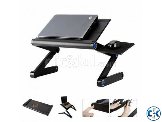 Flexible Laptop Table | ClickBD large image 0