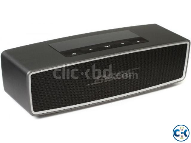 ENJOY REAL MUSIC ANYWHERE WITH MINI Bose SoundLink Bluetooth | ClickBD large image 0