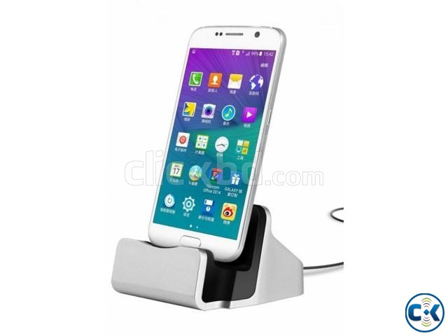 Mobile Charging Dock Mobile Stand with Free Home Delivery | ClickBD large image 0