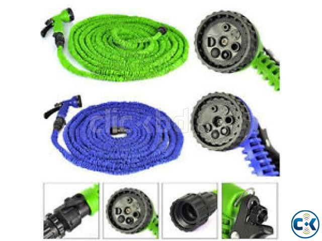 Magic Hose Pipe 100 Feet for Garden Car Wash 017185536300 | ClickBD large image 1