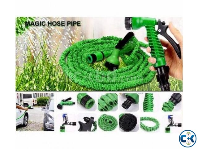Magic Hose Pipe 100 Feet for Garden Car Wash 017185536300 | ClickBD large image 2