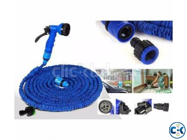 Magic Hose Pipe 100 Feet for Garden Car Wash 017185536300 | ClickBD large image 3