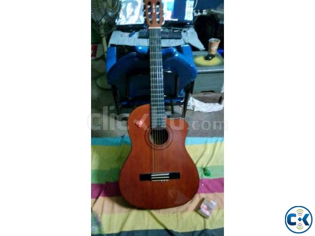 Custom Sub electric Classical guitar | ClickBD large image 0