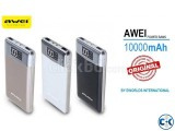 Awei P30K 10000mAh Portable Quick Charge Power Bank with Str