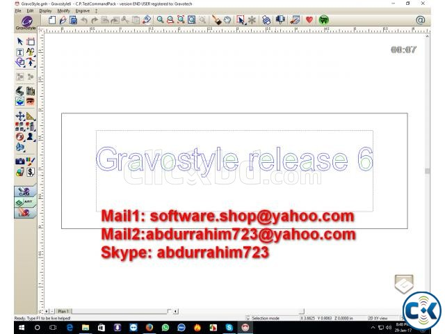 Gravostyle 6 Laserstyle 6 Work Windows 10 Pro 64 Bit | ClickBD large image 2