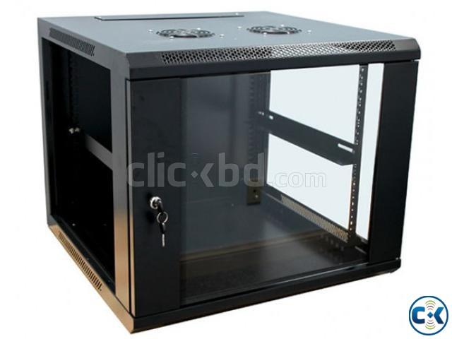 Safecage SCW-L6409 9U Wall Mount Server Cabinet | ClickBD large image 0