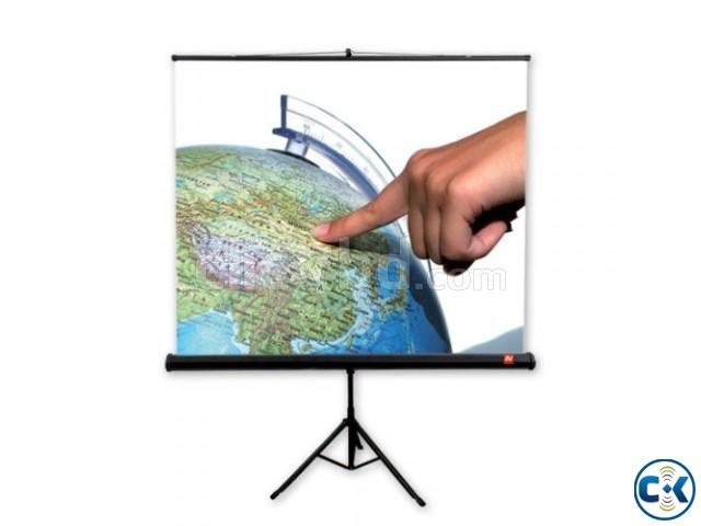 Tripod Projection Screen 60 x 60 Inches | ClickBD large image 0
