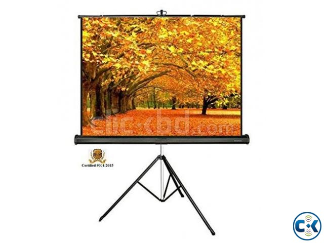 Tripod Projection Screen 60 x 60 Inches | ClickBD large image 1