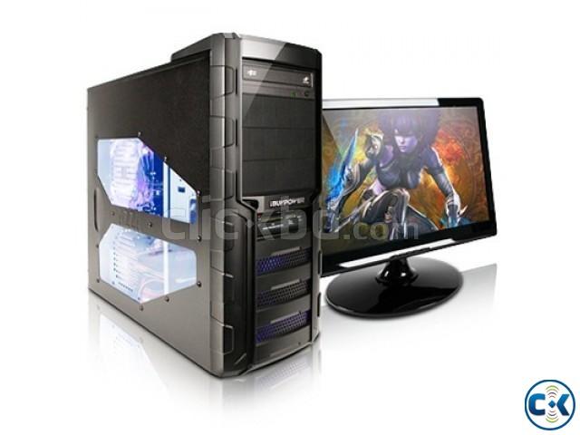 Desktop PC Intel Core i5 4GB RAM 1TB HDD 18.5 Monitor | ClickBD large image 0
